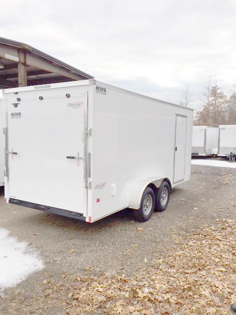 2018 Bravo Trailers 7X16 SC TA3 V RAMP APP WHITE Enclosed Cargo Trailer
