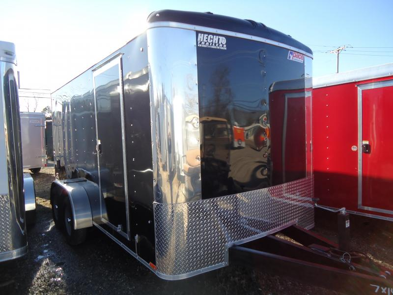 2019 Pace American 7X14 CLS TE2 6X RAMP BLACK Enclosed Cargo Trailer