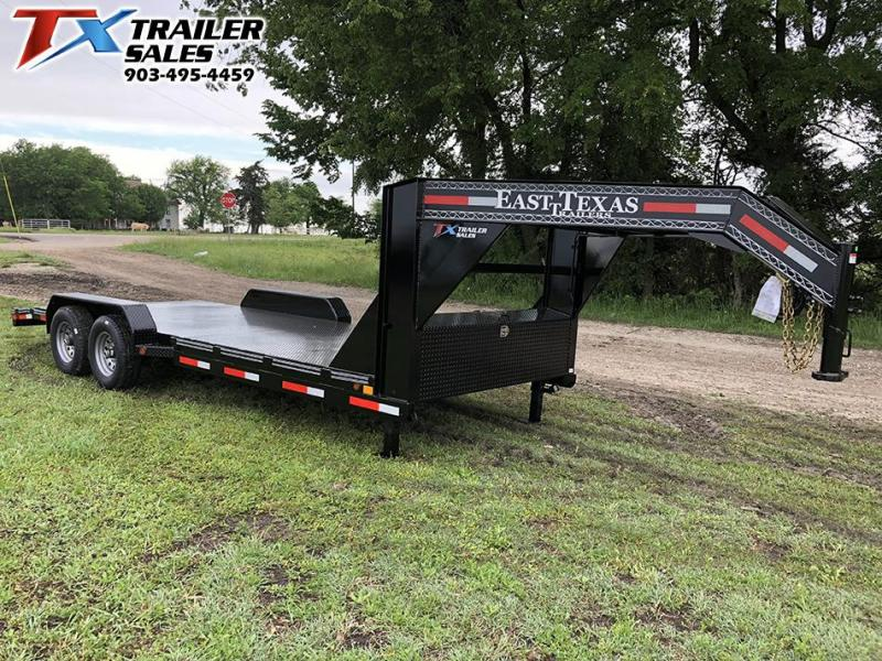 2020 East Texas 83 X 20 GOOSENECK CAR HAULER 12K Car / Racing Trailer