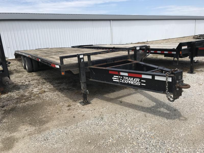 2009 Other 85x255 Pintle Hitch Equipment Trailer