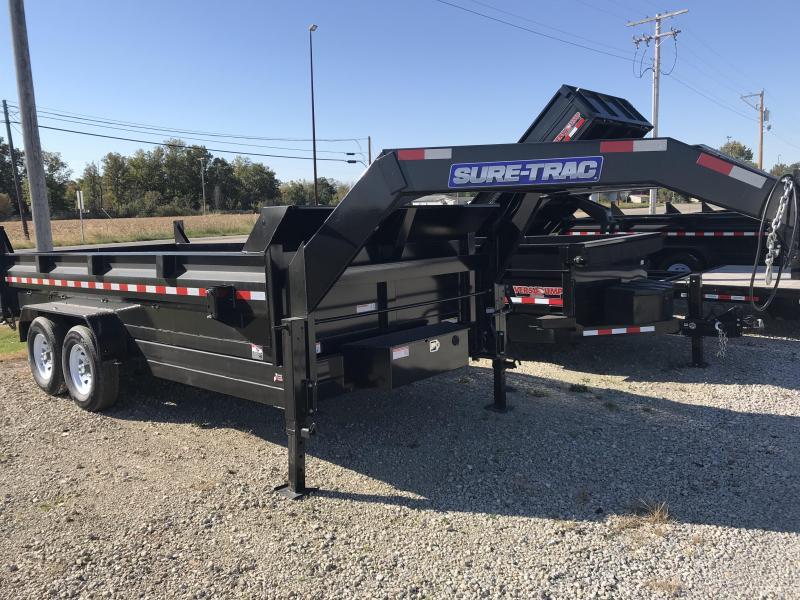 2019 Sure-Trac ST8216HLOD-GN-140 Dump Trailer