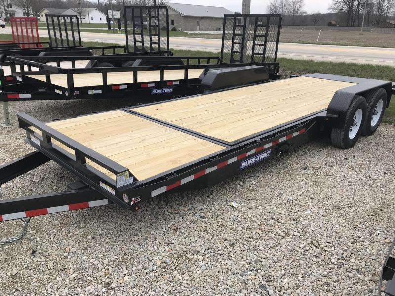 2018 Sure-Trac 7 X 18 + 4 Tilt Bed Equipment 14K