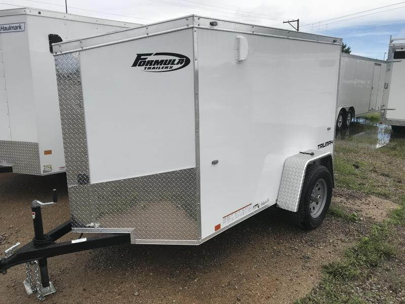 2019 Formula Trailers Triumph 5x8 Slope Nose Enclosed Cargo Trailer