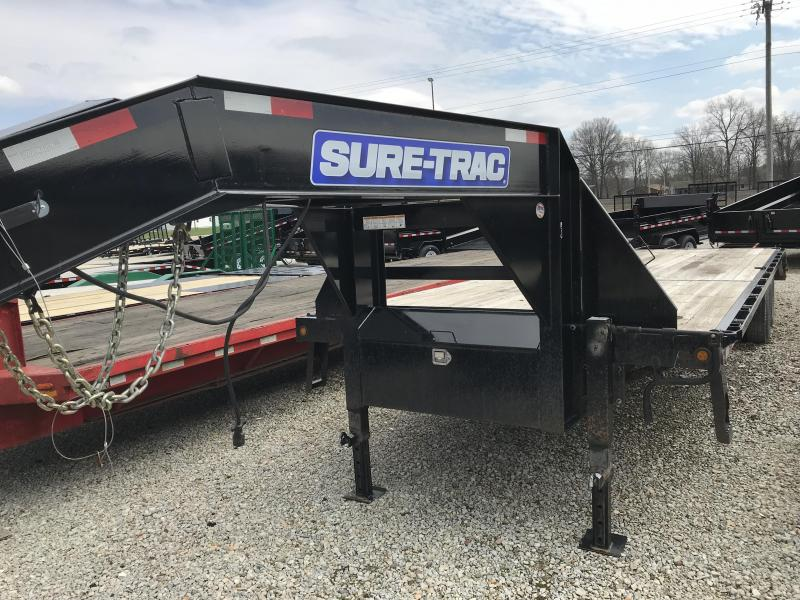 2014 Sure-Trac ST85x255 Gooseneck Equipment Trailer