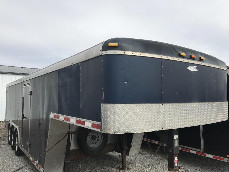 2006 Cargo Mate Gooseneck 8.5x30 Enclosed Cargo Trailer