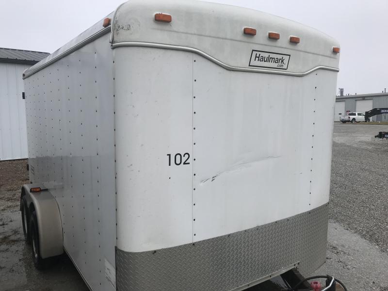 2001 Haulmark 7x14 Kodiak Enclosed Cargo Trailer