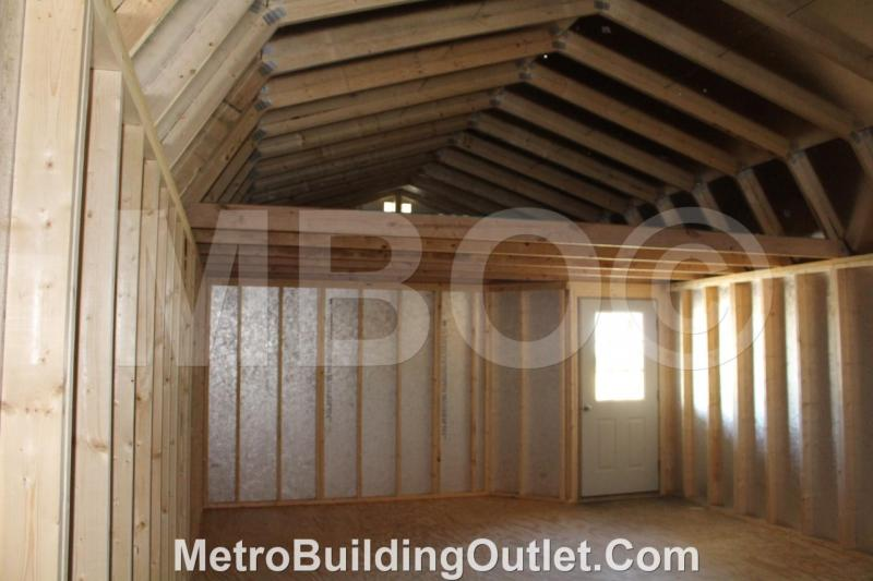 16X46 LOFTED BARN CABIN