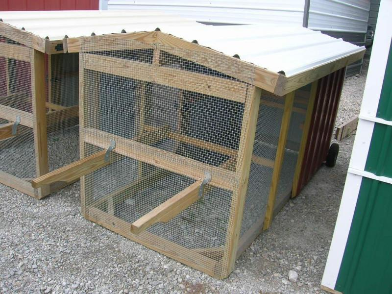 ***CLEARANCE*** 4x8 Chicken Tractor