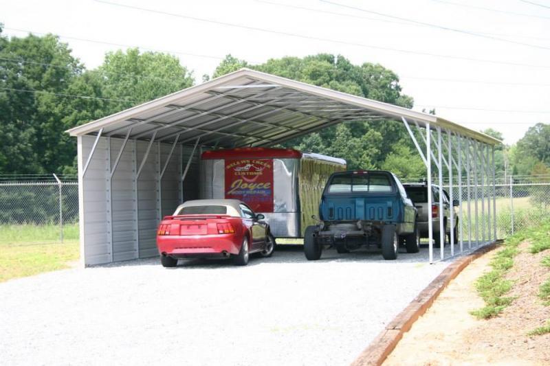24X40X10 Carport #CP089