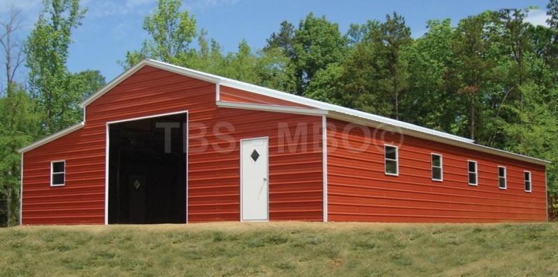 44X60 BARN / GARAGE #B012 | Garages, Barns, Portable Storage