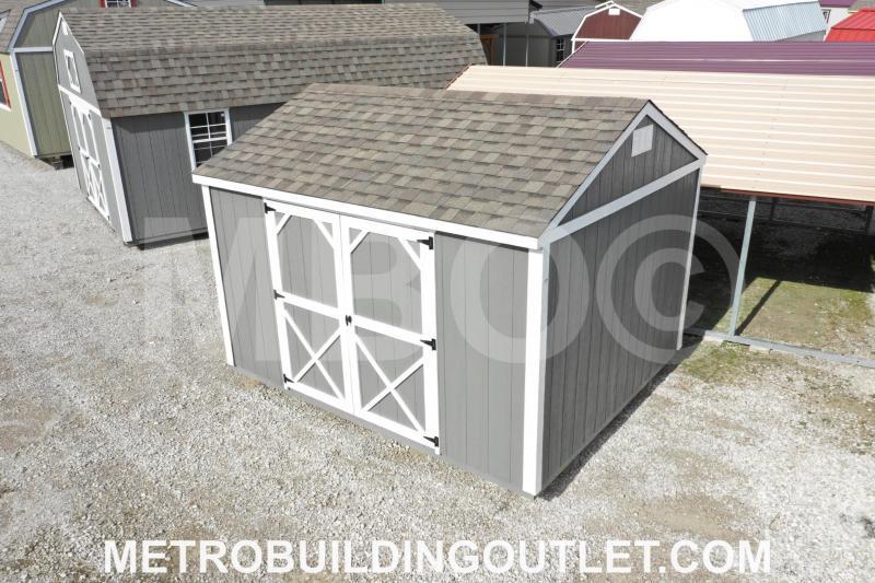 10x12 UTILITY BUILDING