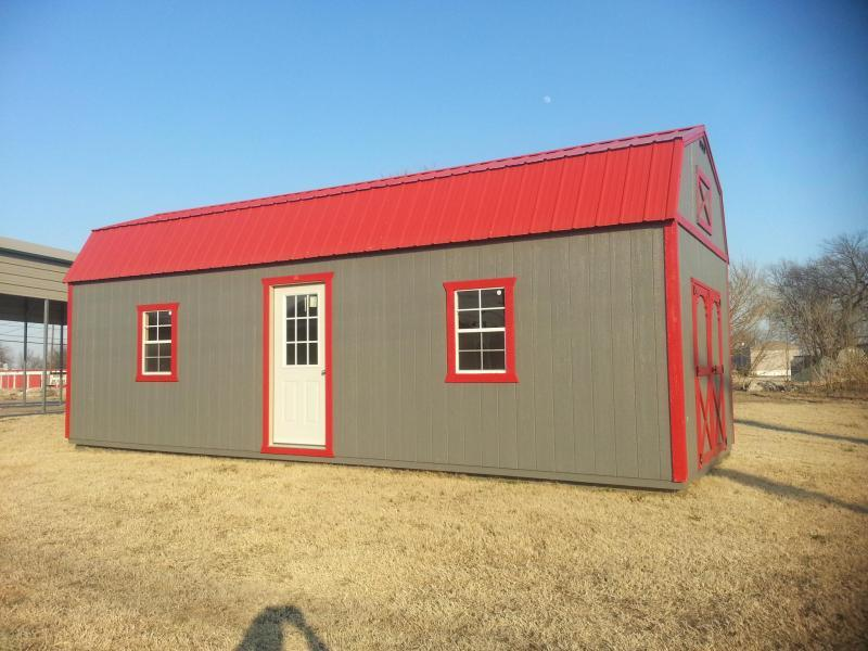 12X32 LOFTED BARN CABIN