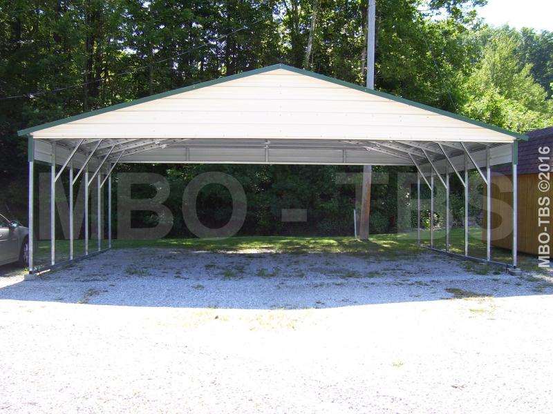 30X20X10 VERTICAL Carport #CP038