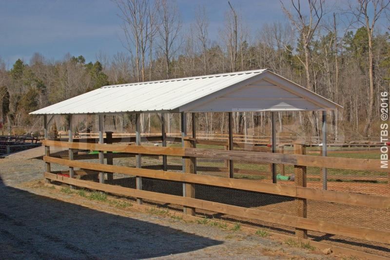 12X20X8 VERTICAL CARPORT #CP003