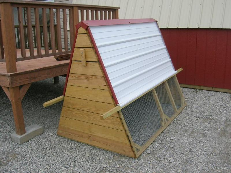 ***CLEARANCE*** 4x6 A-Frame Chicken Tractor