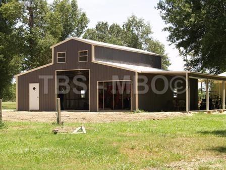 48X40 BARN / GARAGE #B009 | Garages, Barns, Portable Storage
