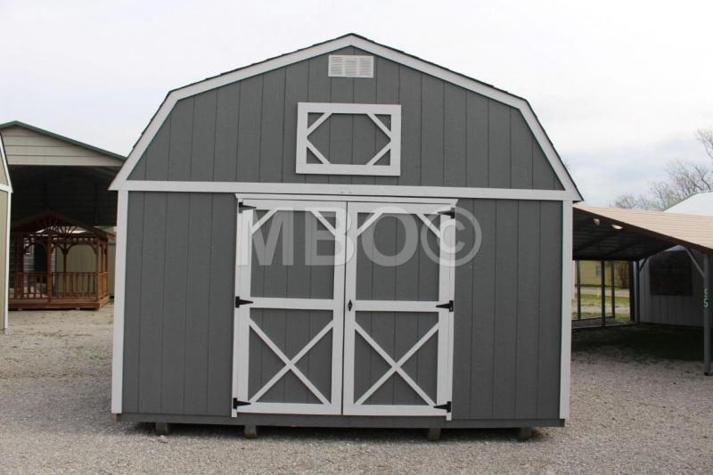 14x24 LOFTED BARN | Garages, Barns, Portable Storage