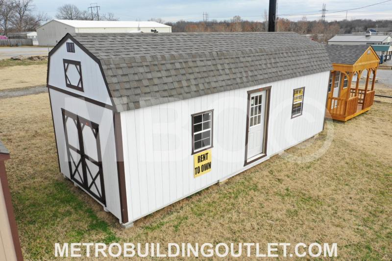 Lofted Barn Cabin 12X30 | Garages, Barns, Portable Storage Buildings