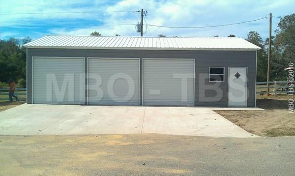 24x40x10 Garage #G075