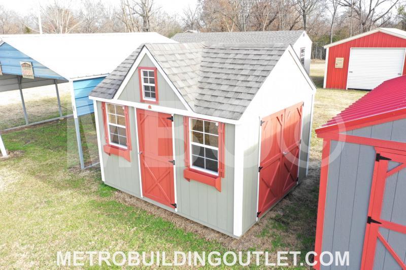 10x12 VICTORIAN UTILITY BUILDING