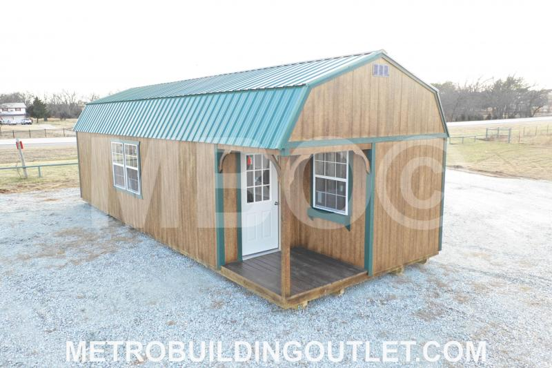 14x36 LOFTED CABIN