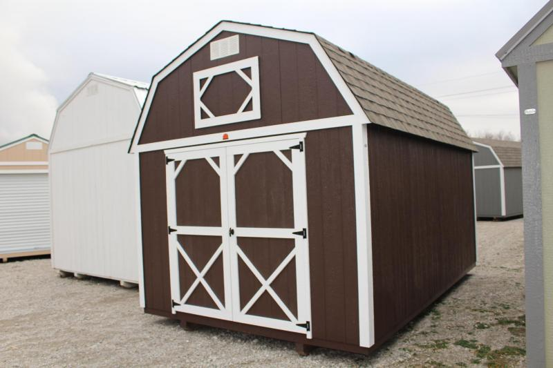 10x16 LOFTED BARN