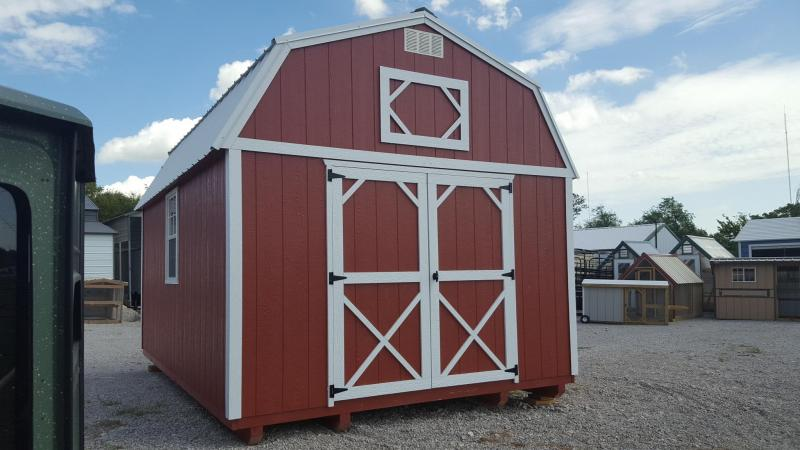 12x16 LOFTED BARN
