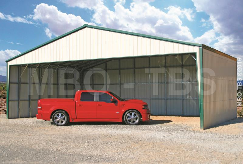 40X32X12 Vertical Roof Carport #CP019