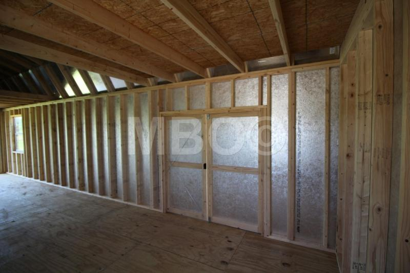 12X34 LOFTED BARN GARAGE