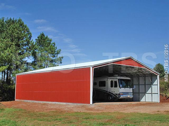 40X52X14 Vertical Roof Carport #CP035