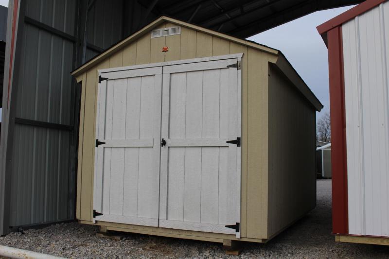 8x12 BASIC UTILITY BUILDING