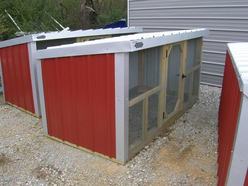 4x8 Wood Frame Mini Loafing Shed | Garages, Barns, Portable Storage ...
