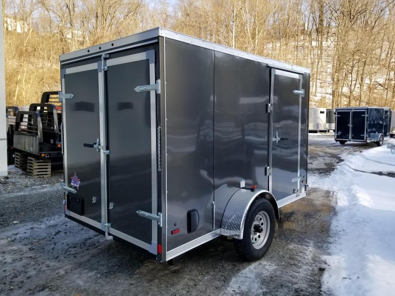 2019 US Cargo ULAFT 6x10 Barn Doors Enclosed Cargo Trailer