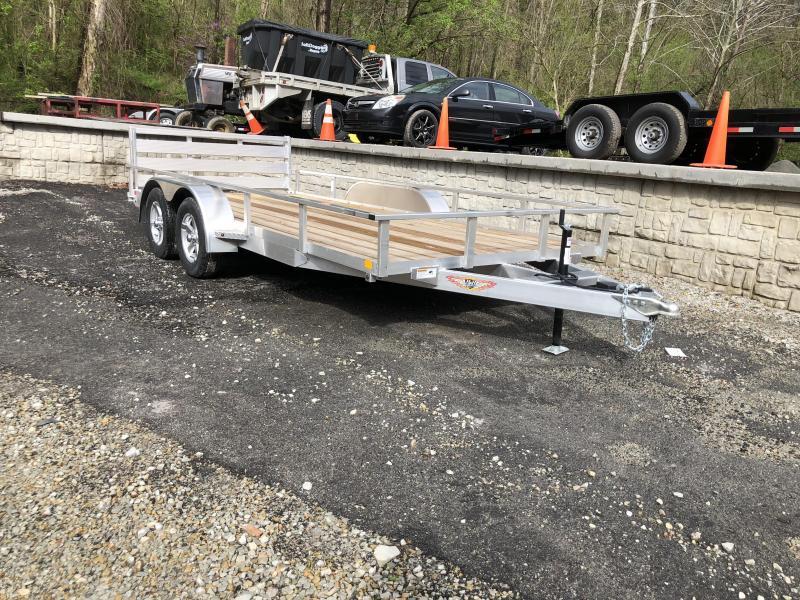 "H&H Tandem Railside Utility 82""x16'"