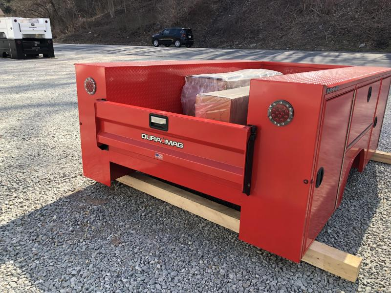 DuraMag S-Series Aluminum Service Body Red SRW