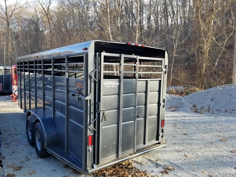 2019 Calico Trailers 20 X 6 X 6'6'' Gooseneck Livestock Trailer