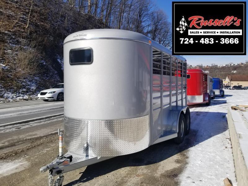 2019 Calico Trailers 16 X 6' X 7' Extra Height Livestock Trailer  in Ashburn, VA
