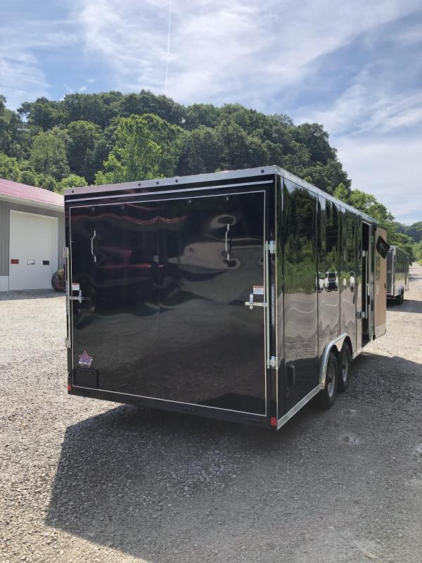 2020 US Cargo 8.5x20 9990 GVW 6'' Extra Height Extended Tongue
