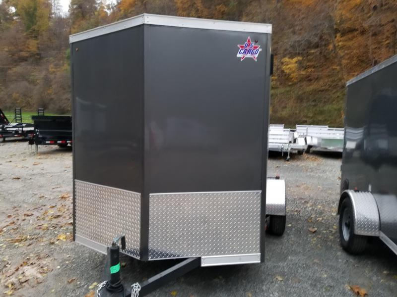 2019 US Cargo ULAFT 6x10 Barn Doors Enclosed Cargo Trailer