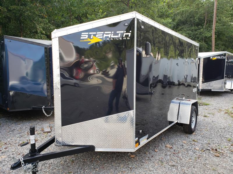 2020 Stealth Trailers 6x12 Ramp Door Mustang Enclosed Cargo Trailer