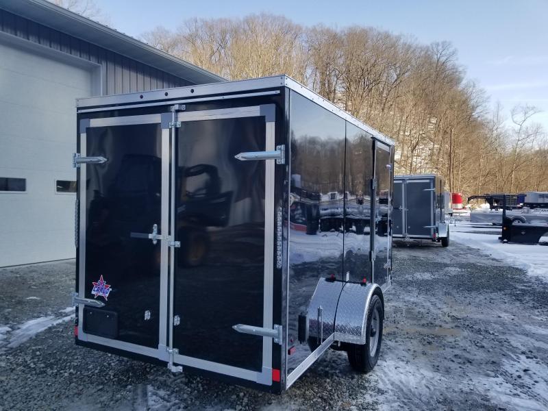 2019 US Cargo 6x12 Barn Doors Enclosed Cargo Trailer