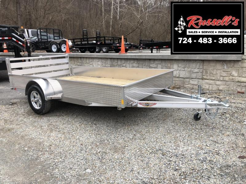 "H&H Solid Side Utility Trailer 82""x12' (SSA)"