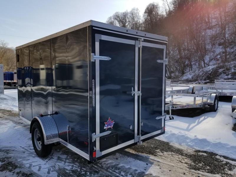2019 US Cargo ULAFT 6x12 Barn Doors Enclosed Cargo Trailer