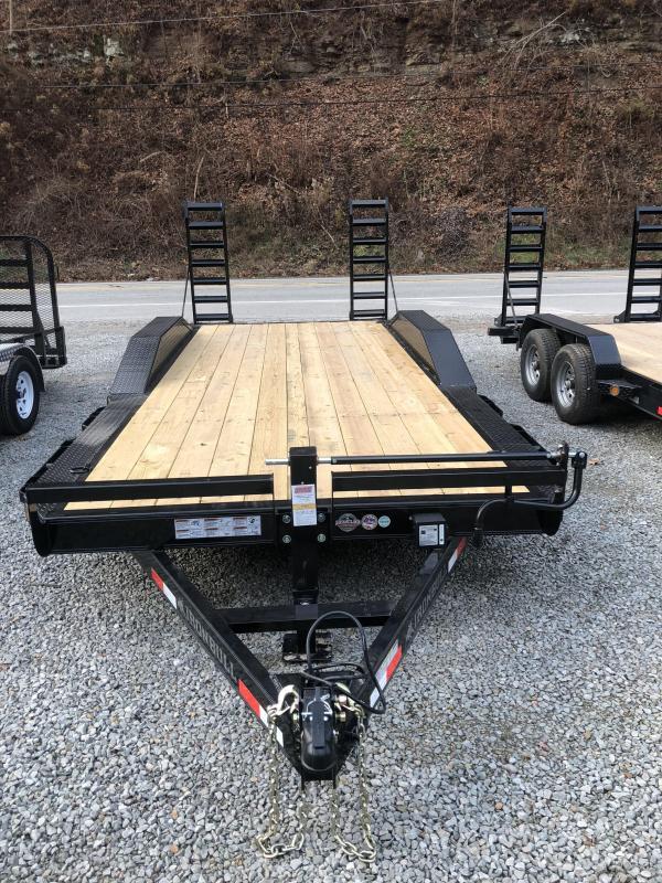 Ironbull 20' Equipment Trailer w/ HD Drive-over Fenders (EQ)