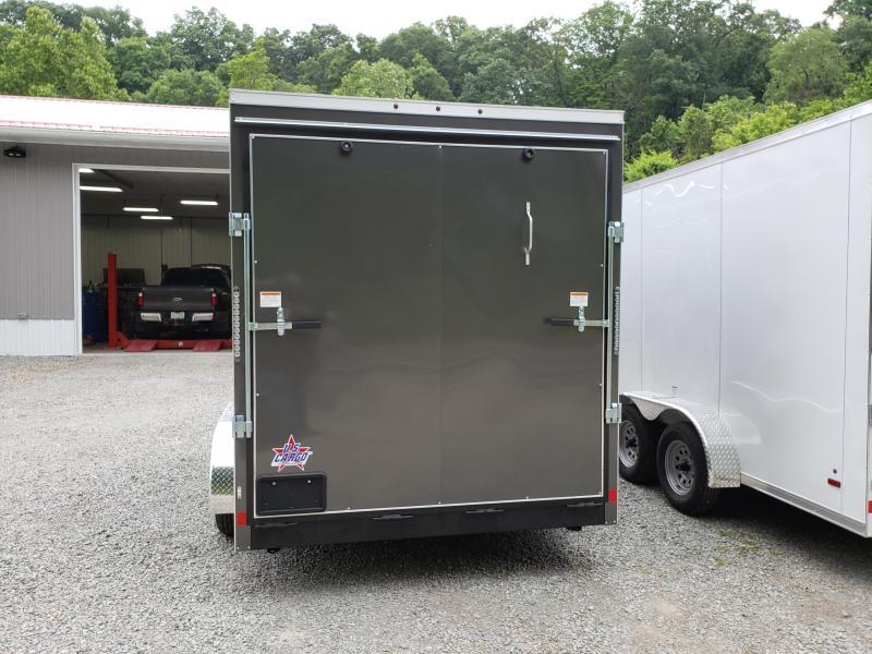 2020 US Cargo 7x14 ULAFT Ramp Door 12 Extra Height Enclosed Cargo Trailer