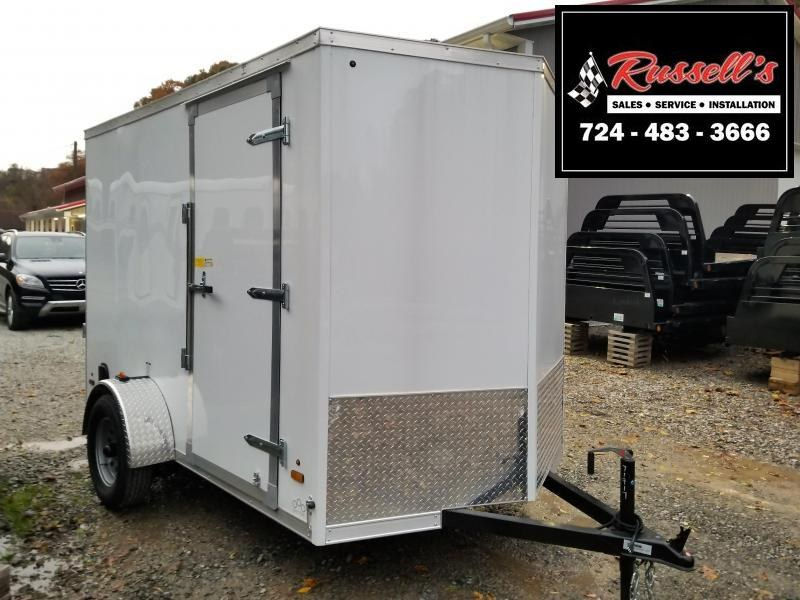 2019 US Cargo ULAFT 6x10 6'' Extra Height Ramp Door Enclosed Cargo Trailer in Ashburn, VA