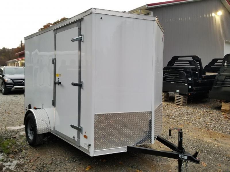 2019 US Cargo ULAFT 6x10 6'' Extra Height Ramp Door Enclosed Cargo Trailer