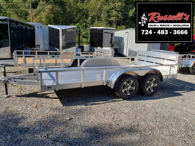2020 Stealth Trailers 6.5x14 Phantom II tandem axle aluminum Utility Trailer