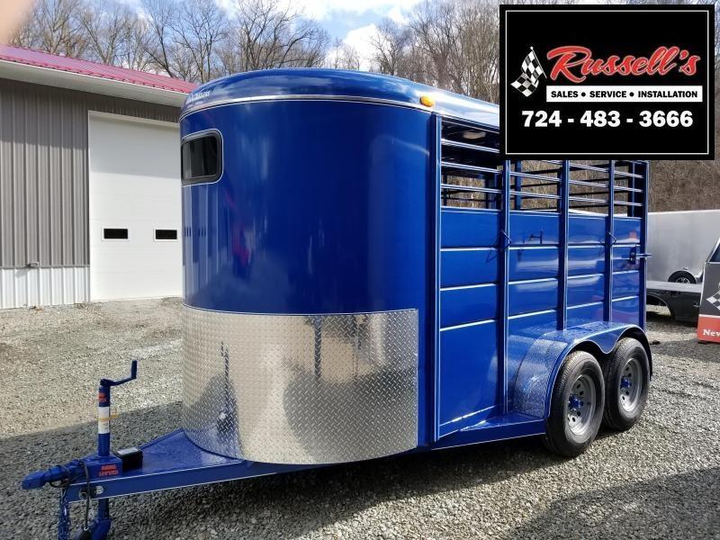 2019 Calico Trailers 14 X 6' X 7' Extra Height Livestock Trailer in Ashburn, VA