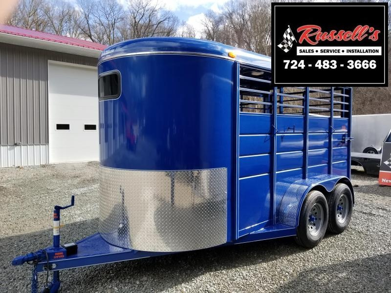 2019 Calico Trailers 14 X 6' X 7' Extra Height Livestock Trailer in Ashburn, VA